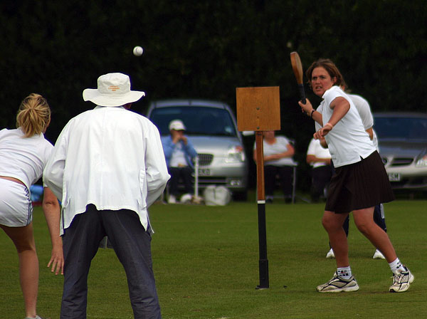 Surrey batting in the Expo Cup 2008